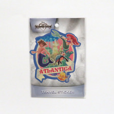 Kingdom Hearts Atlantica Ariel Sora Goofy Travel Sticker ENSKY JAPANESE IMPORT