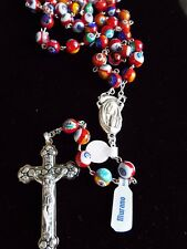 Top Quality Murano glass rosary or necklace, from Italy- 8 mm