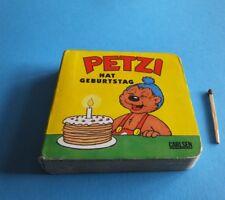 Kinderbuch kleines Bilderbuch Petzi hat Geburtstag 1 Auflage 1997 Carlsen Verlag