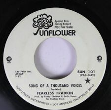 Psych Folk Promo 45 Fearless Fradkin - Song Of A Thousand Voices / You Can Cry I