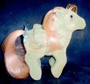 Rose My Little Pony Vintage So Soft Pegasus Wind Whistler VERY GOOD pink hair G1