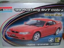 1/25 Monogram 1999 FORD MUSTANG SVT COBRA, KIT IN PLASTICA