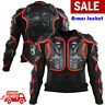 Motorcycle Body Armor Jacket Motocross Racing Spine Chest Protector Gear S-XXXL
