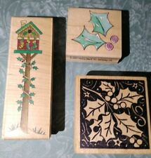 -Rubber Stamps, lot of 3 all New