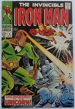 Iron Man #4 (Aug 1968, Marvel), VFN-NM condition, Unicorn appearance