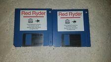"""VINTAGE APPLE II RED RYDER FREESOFT 3.5"""" FLOPPY DISK COMPUTER?   ~69"""