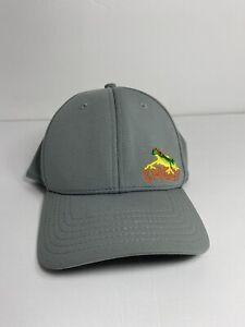 Oakley men's fitted hat baseball cap Gray Size L/XL Gray