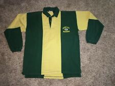 Vintage Green Bay Packers Rugby Style Football Shirt 100% Cotton M.  The Edge
