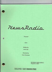 "NEWS RADIO show script ""Review"""