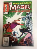Magik X-men (1983) #  1 (NM)  1st App