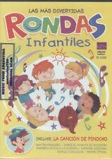 DVD LAS MAS DIVERTIDAS RONDAS INFANTILES NEW 2014 SONGS FOR CHILDREN IN SPANISH