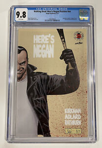 HERE'S NEGAN PREVIEW #1 (Image Blind Box 1:500) CGC 9.8 NM/MT The Walking Dead