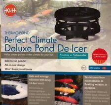 K&H 8125 Perfect Climate Deluxe 250-Watt Pond De Icer Floating or Submersible