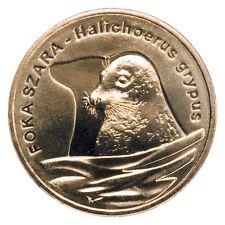 2 zl POLEN 2007 Animals of the World: Grey seal (Halichoerus grypus)
