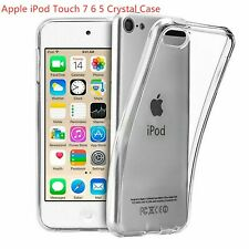 For Apple iPod Touch 7 6 5 Soft TPU Back Case Crystal Slim Shockproof Cover Case