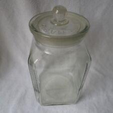 altes großes Maggiglas Maggi-Glas Verkaufsglas mit Deckel Vorratsglas selten!