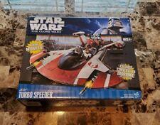 Jedi Turbo Speeder 2010 STAR WARS TCW The Clone Wars MIB