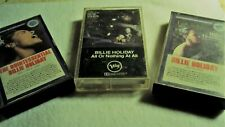 Billie Holiday - Three Cassette Tapes