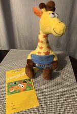 Geoffrey The Giraffe 12 Plush Gift Card Holder Toys R Us Exclusive W/ Gift card