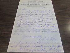 ANTIQUE - BLOOMSBURG JOURNAL - DOLLAR WEEKLY - BILL HEADS - 1878 LETTERHEAD