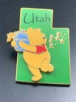 2002 Disney Pin 3D State Character Pin #14958 Winnie the Pooh Utah FAST SHIPPING