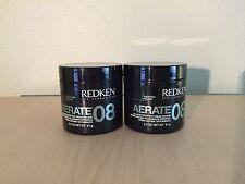 Redken Aerate 08 Bodifying Cream Mousse 3.2 oz-2 pks.
