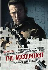 THE ACCOUNTANT NEW REGION 1 DVD