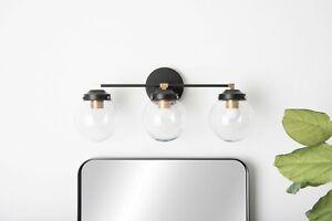 Industrial Bathroom Light Modern Wall Sconce Brass Lamp Mid Century Vanity Light