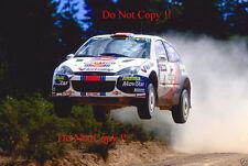 Colin McRae. FORD FOCUS RS WRC 01 RALLY Australiano fotografia 2001