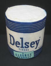 Vintage 1957 Delsey Toilet Paper - New old Stock!