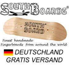 Edel Fingerboard Ahorn-Holz Deck von SOUTHBOARDS® Handmade in Germany wood deck