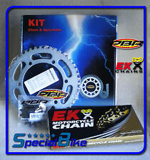 KTM SX 450 RACING 2003 KIT TRASMISSIONE CATENA CORONA PIGNONE PBR / EK