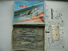 Yak-3 RK-3 Made in Russia 1/72 Scale Model Kit 1992