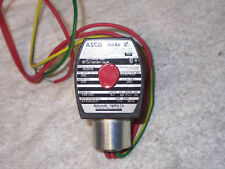 "NEW ASCO EF8262G21 1/4"" PIPE SOLENOID VALVE RED HAT"