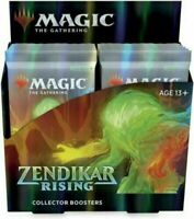 MTG Zendikar Rising Collector Booster Box Factory Sealed