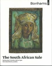 BONHAMS SOUTH AFRICAN ART Kentridge Pierneef Sekoto Stern Tretchikoff Catalog 13