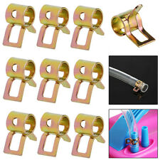 New 50Pcs 5mm Fuel Spring Clip Line Hose Water Pipe Air Tube Clamps Fastener