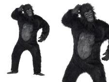 Adulto Disfraz De Lujo De Gorila Simio King Kong Para Hombre Halloween Vestido de fantasía Traje