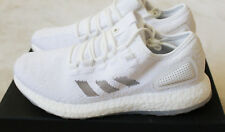 New Adidas Wish Sneakerboy Pure Boost Pureboost Triple White Glow UK 10.5 US 11
