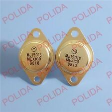 1pair or 2PCS Transistor MOTOROLA TO-3 MJ15015/MJ15016