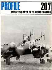 AERONAUTICA AIRCRAFT Publications Profile 207 - Messerschmitt Bf 110 Night   DVD