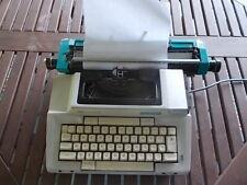 Vintage BLUE Turquoise SMITH CORONA Coronamatic 2200 Electric Typewriter