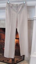 Ann Taylor LOFT Stretch Off-White Pants Sz 0