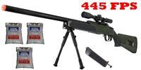 445 FPS ZM51G Spring Bolt Action Airsoft Sniper Rifle Gun MK51 M40 - GREEN