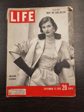 LIFE Magazine: September 11, 1950