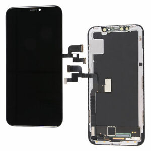 OLED LCD Display Touch Screen Digitizer Assembly Replacement For iPhone X Black