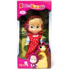 SIMBA Masha and The Bear Doll, In Red Sundress, Gift Box, Cartoon Character