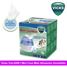 BD Vicks VUL520 Mini Cool Mist Ultrasonic Humidifier with1.8L Tank/ 20H 15 sqm