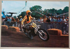 (PRL) ROGER DE COSTER MOTOCROSS SPORT MOTO VINTAGE PRINT AFFICHE ART POSTER