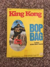 Mego 1976 King Kong Bop Bag Dino de Laurentiis -Super Rare- Unused